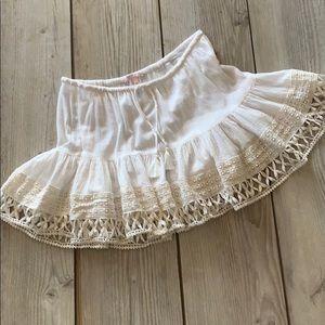 Victoria Secret 💯 cotton bathing suit skirt